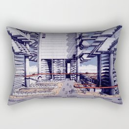 LOMEX Lower Manhattan Expressway Rectangular Pillow