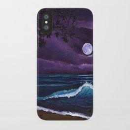 Romantic Kauai Moonlight iPhone Case