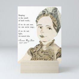 Homage to Frances Mary Buss Mini Art Print