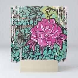 Drip Drop Graffiti Mini Art Print