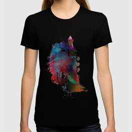 tuba art #tuba #music T-shirt