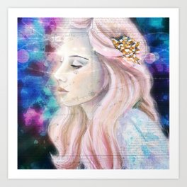 Starseed Awareness Art Print