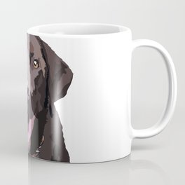 Libby the Chocolate Lab Coffee Mug