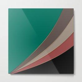 Abstract geometric pattern 3 Metal Print