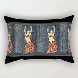 Belly dancer 17 Rectangular Pillow