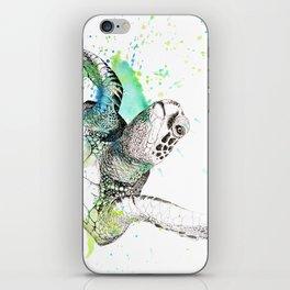 Sea Turtle I iPhone Skin