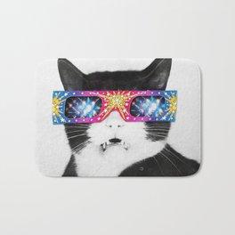 Laser Cat Bath Mat