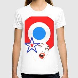 Pop-Art Pinup T-shirt