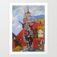 Academy of Performing Artz Art Print
