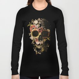 Garden Skull Light Long Sleeve T-shirt