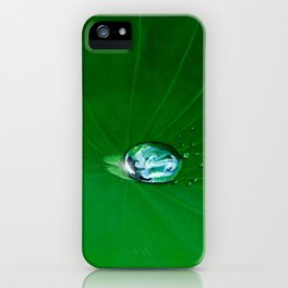 Water Drop Waves - Look Closer iPhone Case