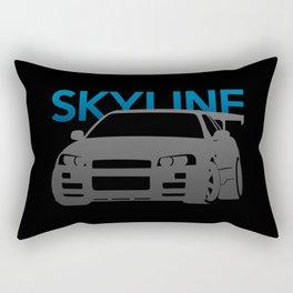 Nissan Skyline GT-R  Rectangular Pillow