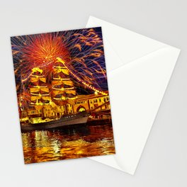 Happy Brirtday, America Stationery Cards