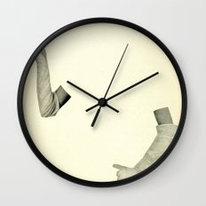Disappearing Act Wall Clock