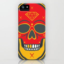 Skull Diamond iPhone Case
