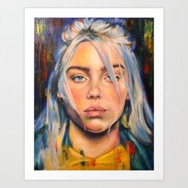 Billie Eilish Art Print