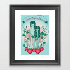John & Yoko Framed Art Print