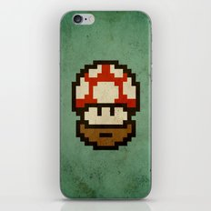 Bearded mushroom iPhone & iPod Skin