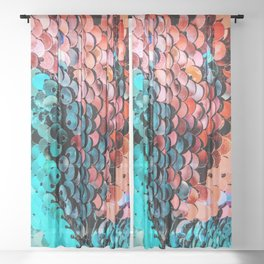Sequin Sheer Curtain