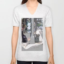 """Getting a Ride"" Unisex V-Neck"
