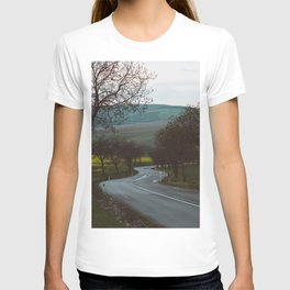 Along a rural road - Landscape and Nature Photography T-shirt