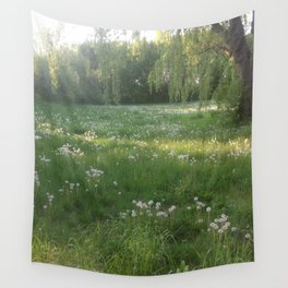 Lawn Wishes Wall Tapestry