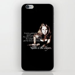 Buffy The Vampire Slayer iPhone Skin