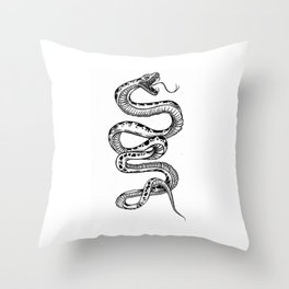 out for blood Throw Pillow