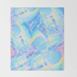 Blue Gemstone Throw Blanket