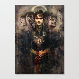 Uno, nessuno e centomila (Radiance Anthology) Canvas Print