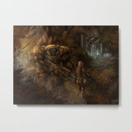 Chance Encounter with the 9th Order of Beelzebub Metal Print