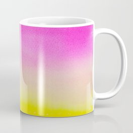 Abstract painting in modern fresh colors Coffee Mug