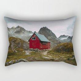 The Mint Hut in Hatcher Pass, Alaska Rectangular Pillow