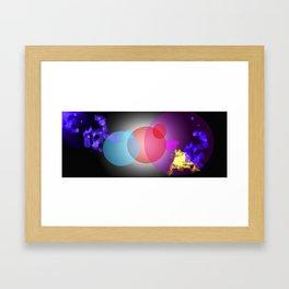 Eclipsical Radience Framed Art Print