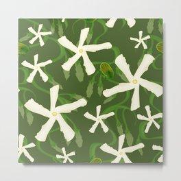 Jasmines & Junebugs Metal Print