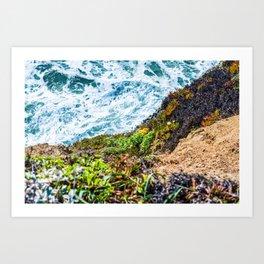 Beach 50-50 Art Print