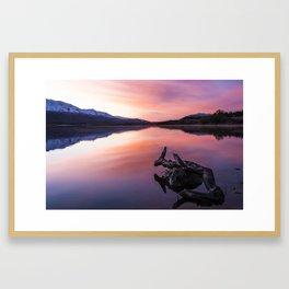Sunrise Reflections Framed Art Print