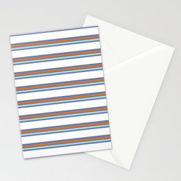 Cool Stripes Stationery Cards