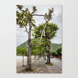 Street of Angra dos Reis (Brazil) Canvas Print