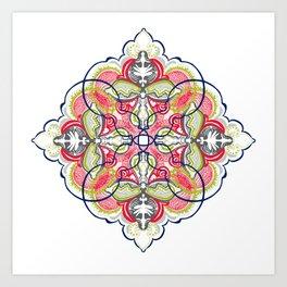 Segmentation #1 Art Print