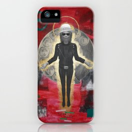 Saint LeRoy of the Sacred Faceless Avatar iPhone Case
