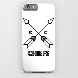 Chiefs Arrowhead iPhone Case