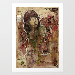 Io M. Art Print