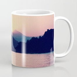 Romantic Pastel Pink Sunset #1 #art #society6 Coffee Mug