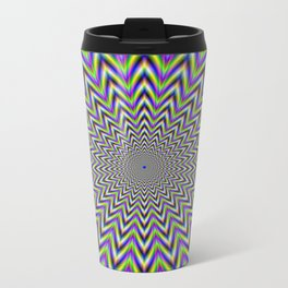 Starry Pulse Metal Travel Mug