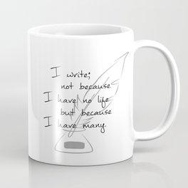 Writer of Lives v2 Coffee Mug