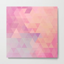 All About The Triangles Metal Print
