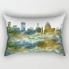 Baltimore Skyline Maryland Rectangular Pillow