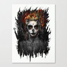 la muerte Canvas Print
