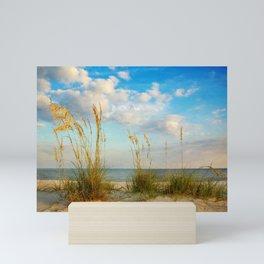 Sea Oats along the Beach Mini Art Print